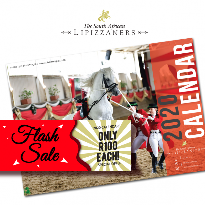 Flash sale: 2020 Calendars